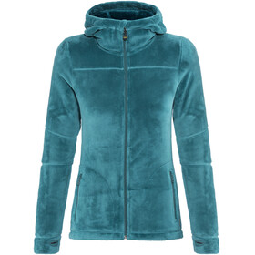 Meru Nunavut Hooded Teddy Fleece Jacket Women Corsair